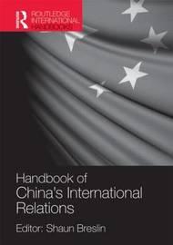 Handbook of China's International Relations image