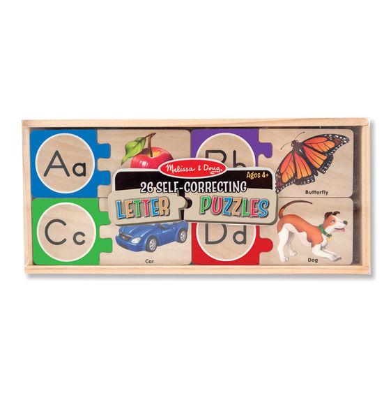 Melissa & Doug: Alphabet Letter Puzzles image