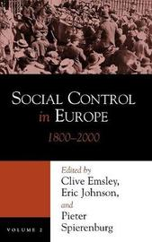 Social Control in Europe, 1800-2000 by Clive Emsley