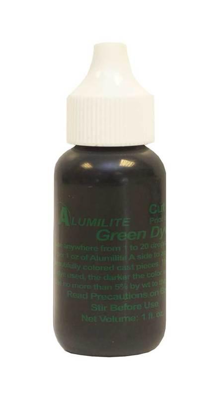 Alumilite: Green Dye (1oz.)