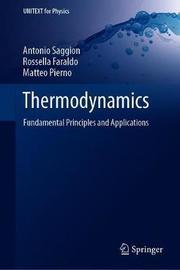 Thermodynamics by Antonio Saggion