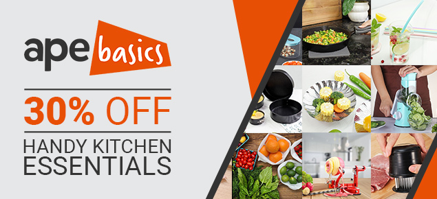 30% off Ape Basics Kitchenware!