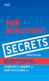 Pain Management Secrets by Andrew E. Dubin
