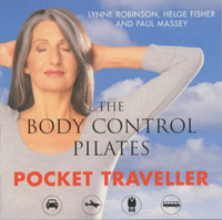 The Body Control Pilates Pocket Traveller: In Association with British Airways by Lynne Robinson image