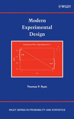Modern Experimental Design by Thomas P Ryan