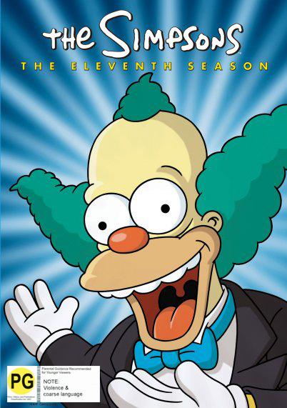 The Simpsons - Season 11 on DVD image