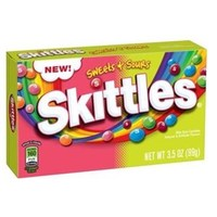 Skittles Theater Box Sweets & Sours (99gms)
