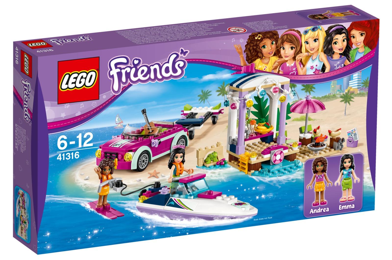 LEGO Friends - Andrea's Speedboat Transporter (41316) image