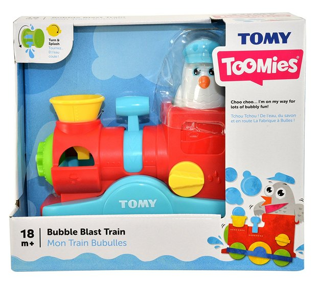 Tomy Toomies: Bubble Blast Train - Bath Toy