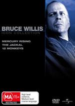 Bruce Willis Movie Collection (Mercury Rising / Jackal / 12 Monkeys) (3 Disc Set) on DVD