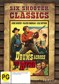 Drums Across The River (Six Shooter Collection) on DVD image