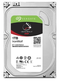 "1TB Seagate: IronWolf [3.5"", 6Gb/s SATA, 5900RPM] - Internal NAS Hard Drive"