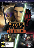 Star Wars: Rebels - Season 3 on DVD