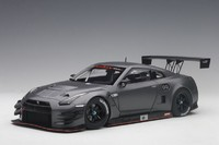 Autoart: 1/18 Nissan Gt-R Nismo GT3 (Dark Matt Grey) - Diecast Model