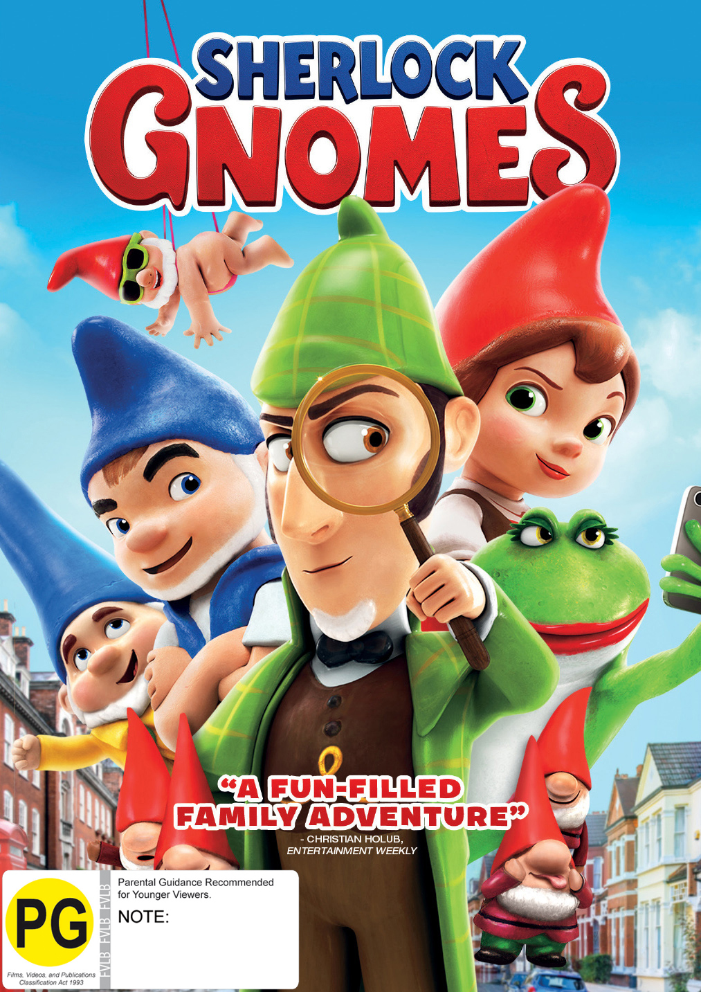Sherlock Gnomes on DVD image