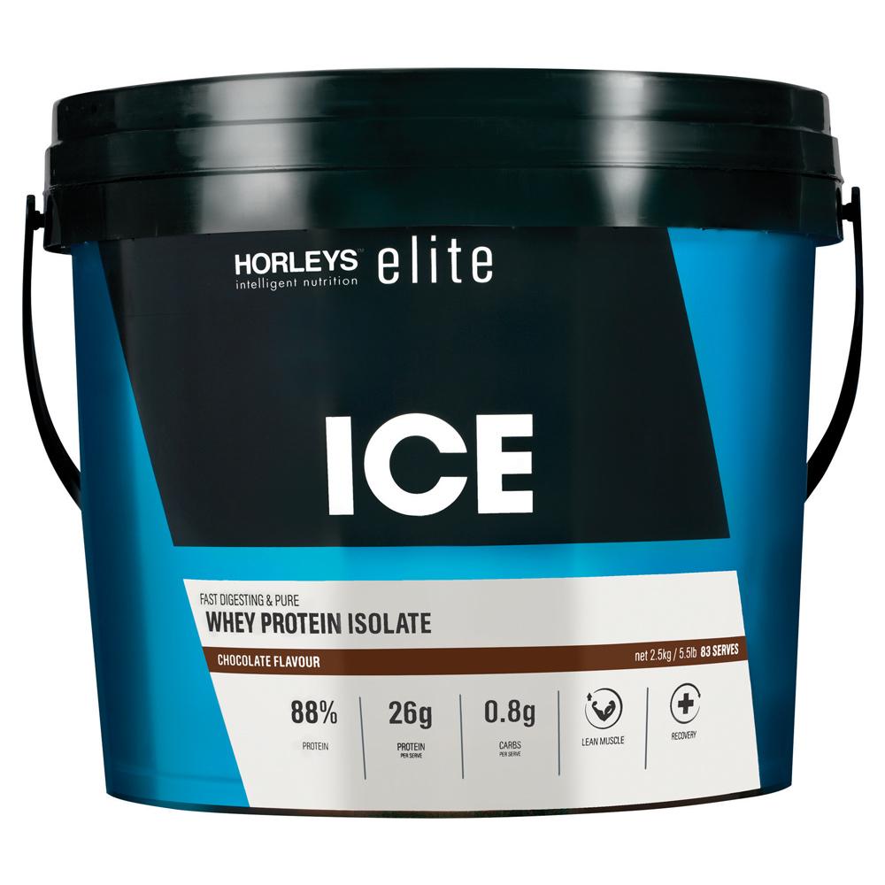 Horleys ICE Whey Protein Isolate - Chocolate (2.5kg) image