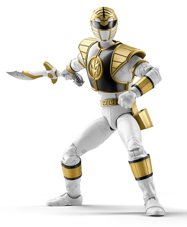 """Power Rangers: Lightning Collection 6"""" Action Figure - Mighty Morphin White Ranger"""