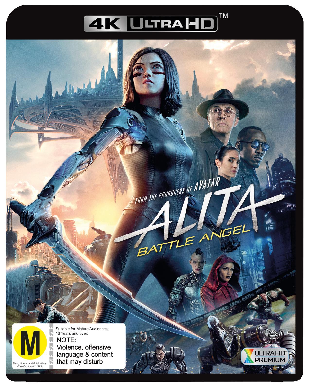 Alita: Battle Angel on UHD Blu-ray image