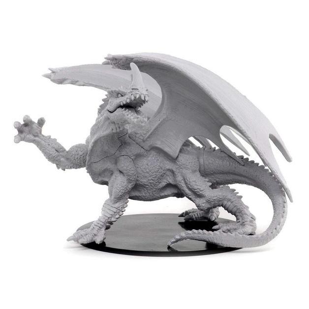 Pathfinder Deep Cuts Unpainted Miniatures - Gargantuan Green Dragon