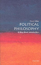 Political Philosophy: A Very Short Introduction by David Miller image