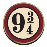 Harry Potter Platform 9 3/4 Badge