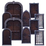 Dungeon Saga: Dungeon Doors Pack