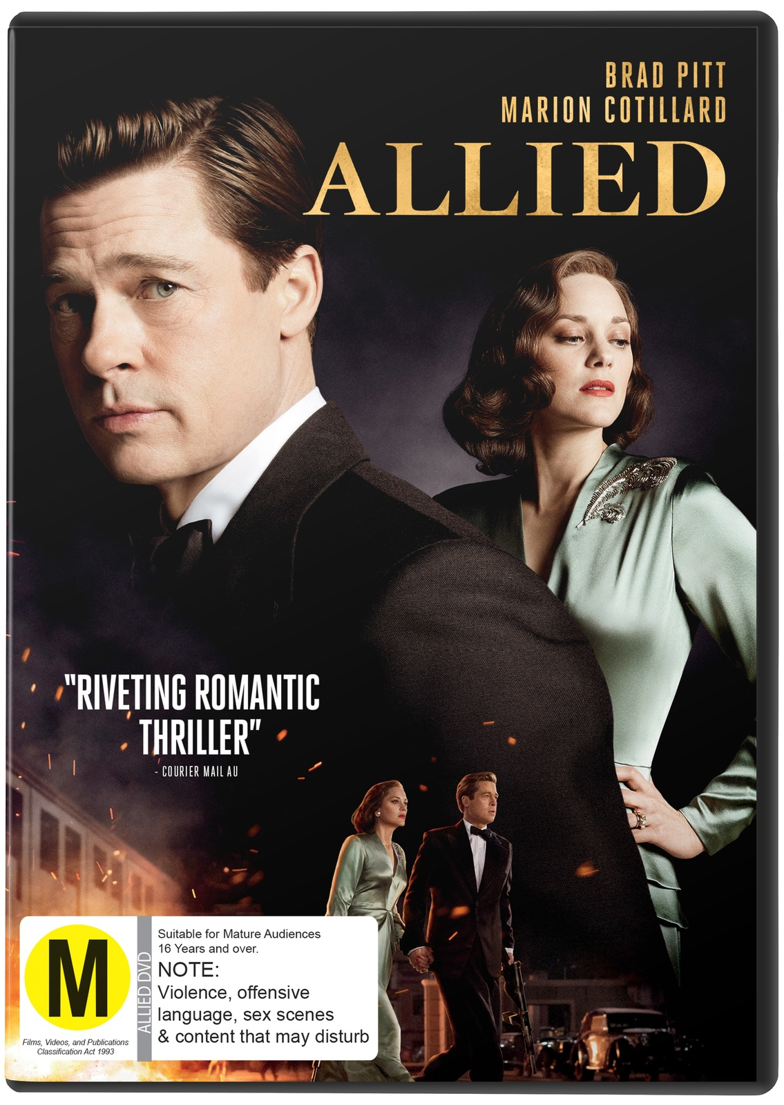 Allied on DVD image