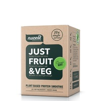Just Fruit & Veg Protein Smoothie - Cacao Mint (10 Sachets)