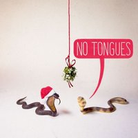 Noi: No Tongues - Greeting Card