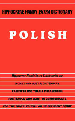 Polish Handy Extra Dictionary by Krystyna Olszer image