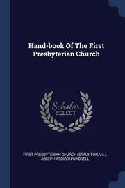 Hand-Book of the First Presbyterian Church by VA image