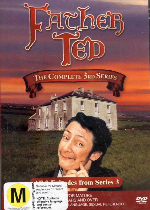 Father Ted Series 3 on DVD image