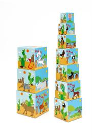 Scratch: Jumbo Stacking Tower - Animals of the World