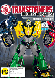 Transformers Robots In Disguise: Combine And Conquer on DVD