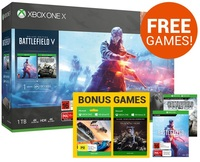 Xbox One X Battlefield V Gold Rush Special Edition Bundle for Xbox One image