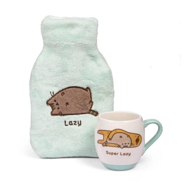 Pusheen: Super Lazy Mug & Hottie Gift Set