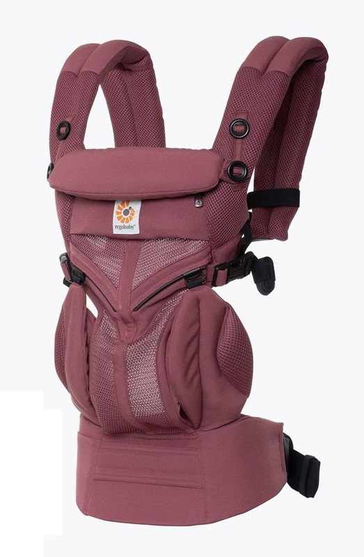 Ergobaby: Omni 360 - Cool Air Mesh All-In-One Baby Carrier (Plum)