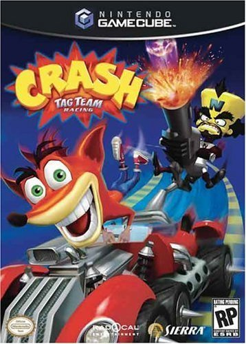 Crash Tag Team Racing for GameCube