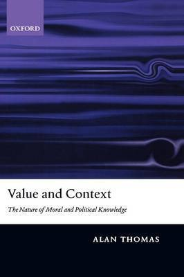 Value and Context by Alan Thomas