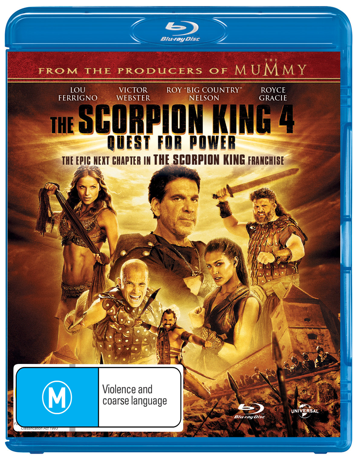 The Scorpion King 4: Quest for Power on Blu-ray image
