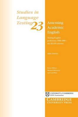 Studies in Language Testing: Series Number 23 by Alan Davies image