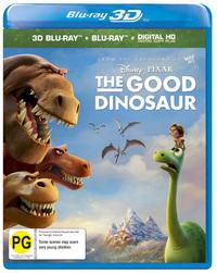 The Good Dinosaur - (Blu-ray + 3D) DVD