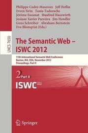 The Semantic Web -- ISWC 2012