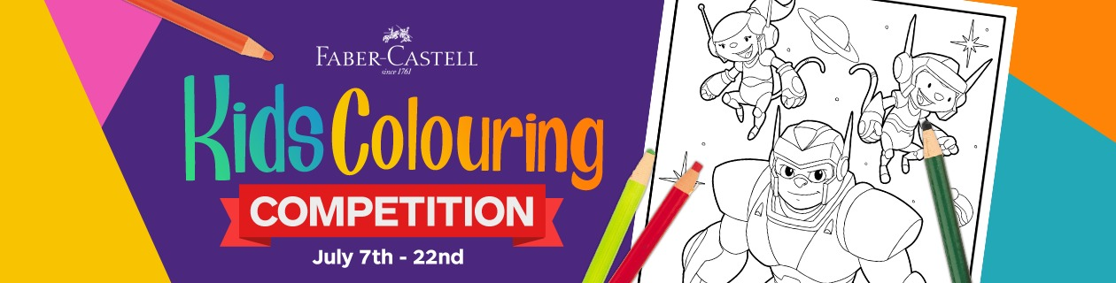 Fabe-Castell Colouring Competition