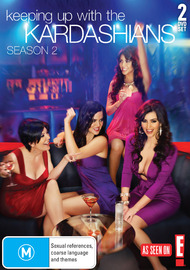 Keeping Up With The Kardashians - Season 2 (2 Disc Set) on DVD image