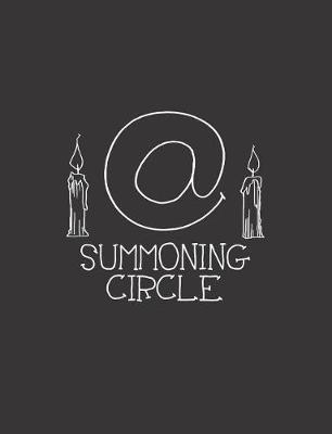At Sign Summoning Circle by Ruby Dream Designs