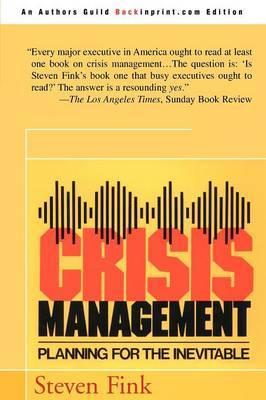 Crisis Management by Steven Fink image