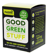Good Green Stuff - 10x10g Sachets
