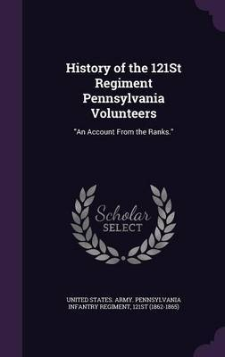 History of the 121st Regiment Pennsylvania Volunteers image