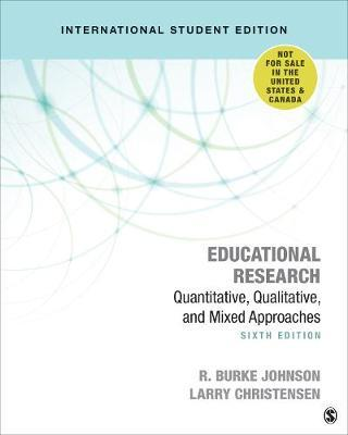 Educational Research by R.Burke Johnson image